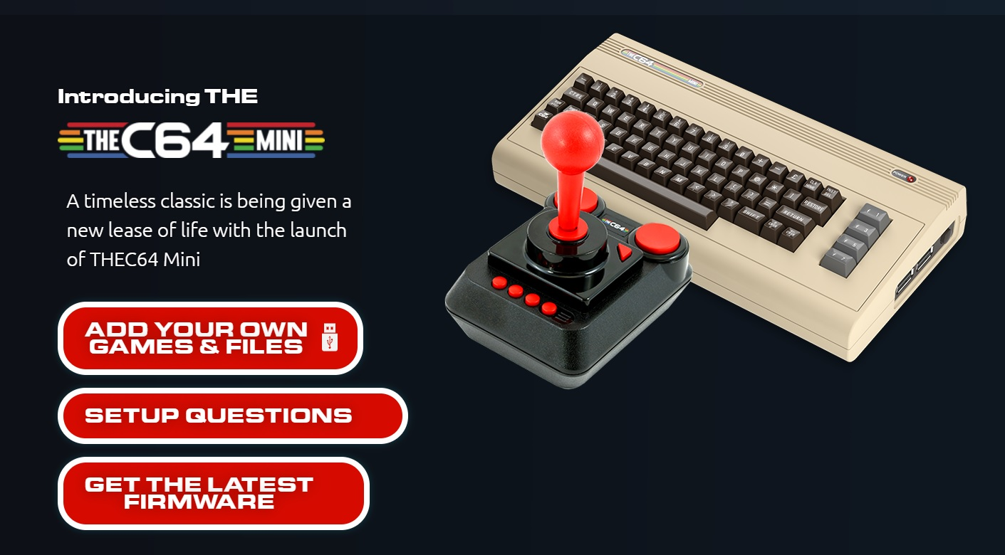 C64 Comes with – Hi-tech Chic